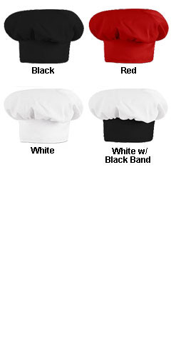 Professional Chef Hat By Chef Designs - All Colors