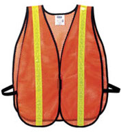 Custom Adult Mesh Reflective Safety Vest