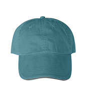 Custom Anvil Solid Pigment-Dyed Twill Sandwich Cap