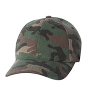 Custom Flexfit Adult Cotton Camouflage Cap