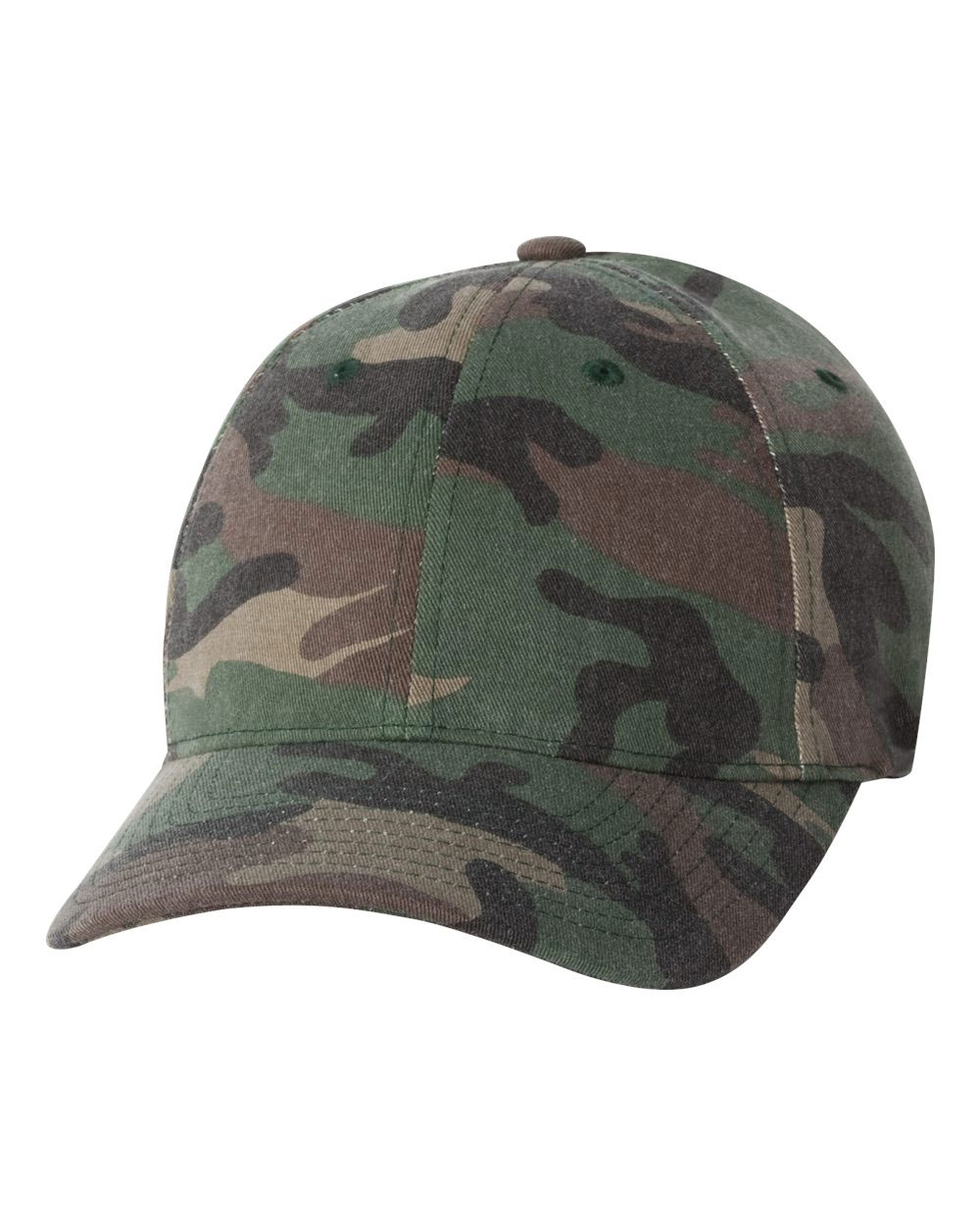 Flexfit Adult Cotton Camouflage Cap