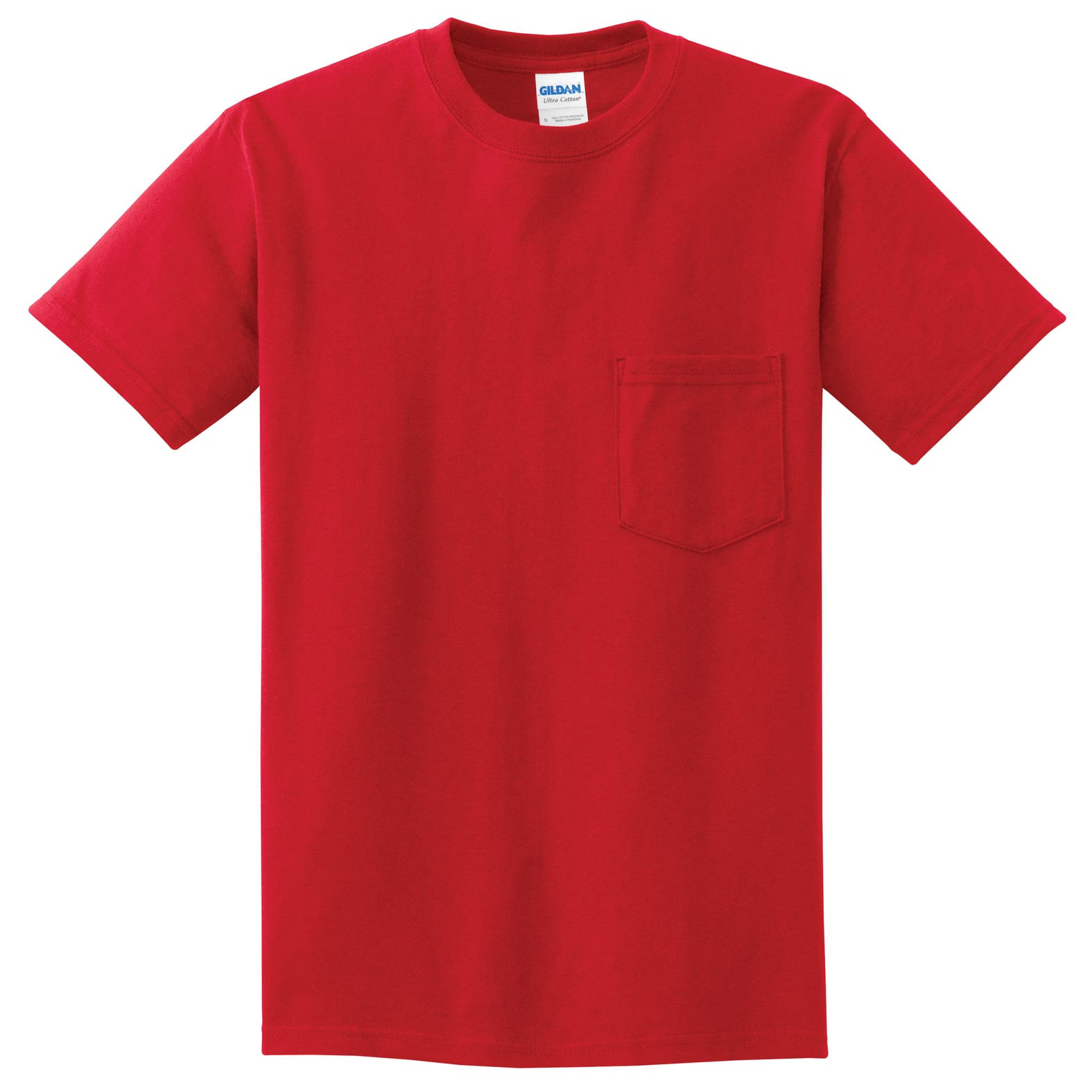 Gildan Adult Ultra Cotton® Pocket T-Shirt