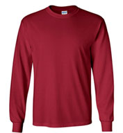 Custom Gildan 100% Heavyweight Ultra Cotton Long Sleeve T-Shirt Mens